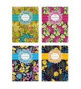 Zápisník A5 čistý 80 listů Floral Collection Notebook