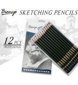 Bianyo Sketching pencil sada 12 ks